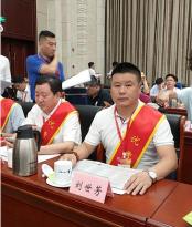 """新江南职业学校校长刘世芳 获""""江西省"""